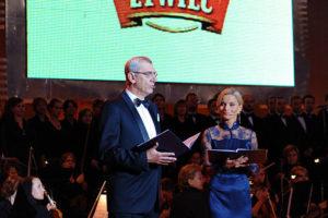 Uroczystość poprowadziła Małgorzata Foremniak wraz z Wiktorem Zborowskim