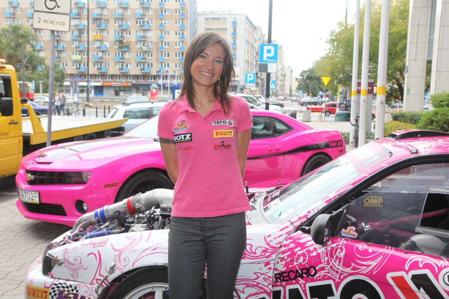 Karolina Pilarczyk-kierowca rajdowy