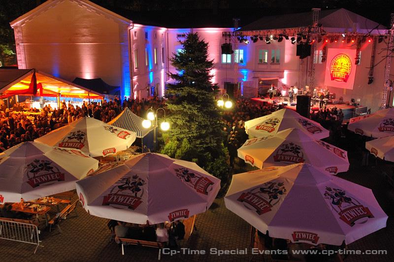 impreza odbywała się w Browarze i w mieście Żywiec