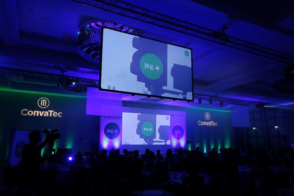 realizacja multimedialna - konferencja Convatec