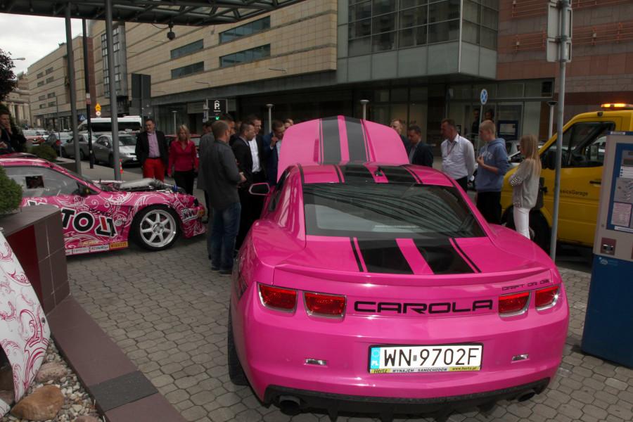 samochód Karoliny Pilarczyk