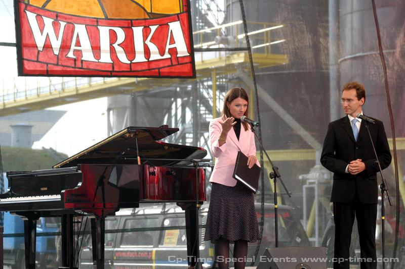 prowadzący event: Agata Konarska i Piotr Kraśko