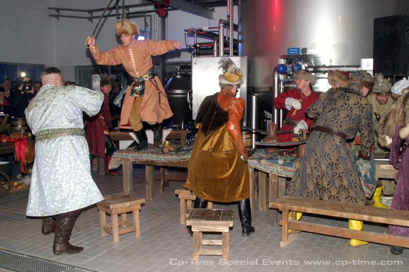klimat imprezy nawiązują do XVI-wiecznej szlachty polskiej