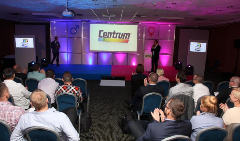 realizacja wizualizacji event Centrum